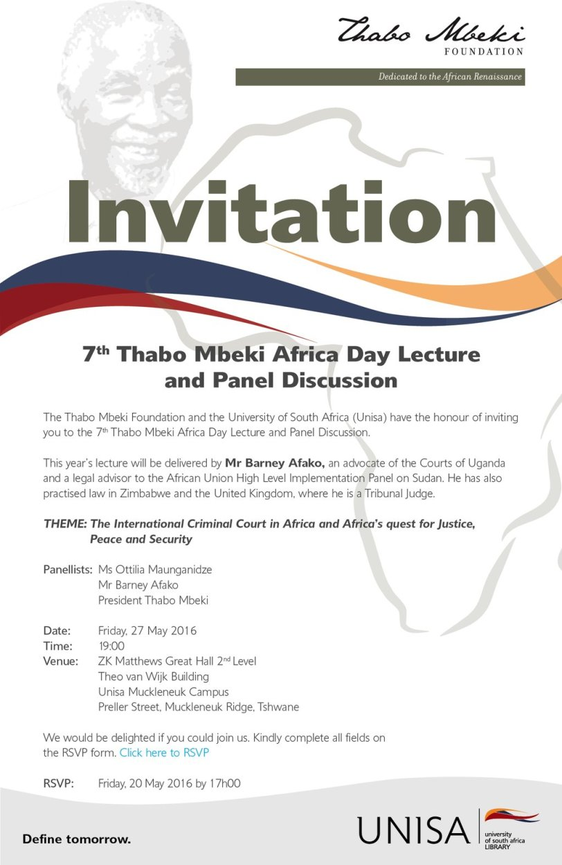 Africa Day Lecture